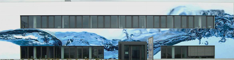 Fassadengestaltung von Firmengebäuden mit STARWALL