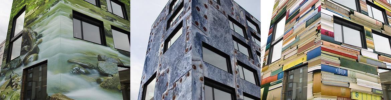 Außengestaltung von Immobilien aller Art mit STARWALL